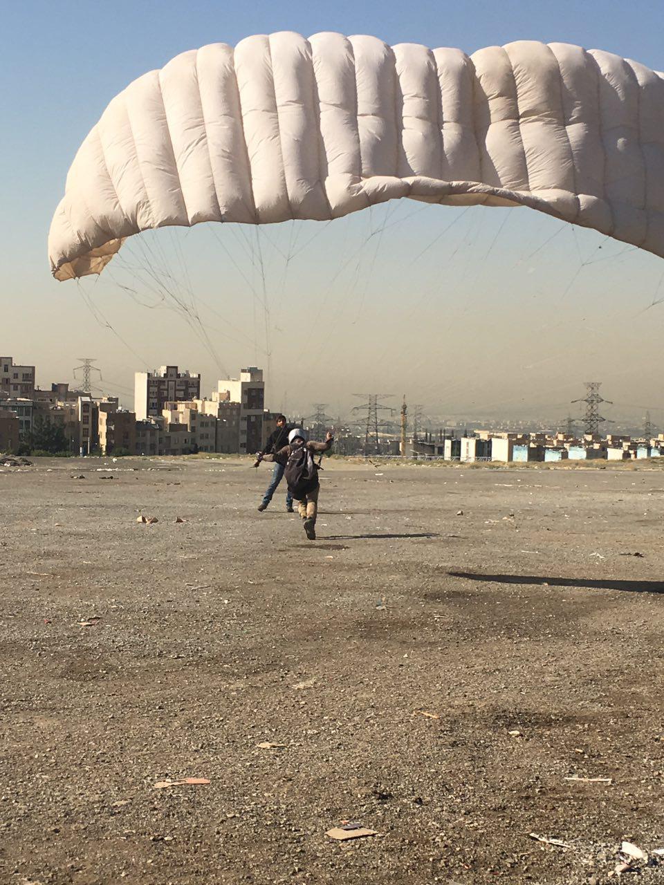 آموزش بال کشی سایت شهران تهران