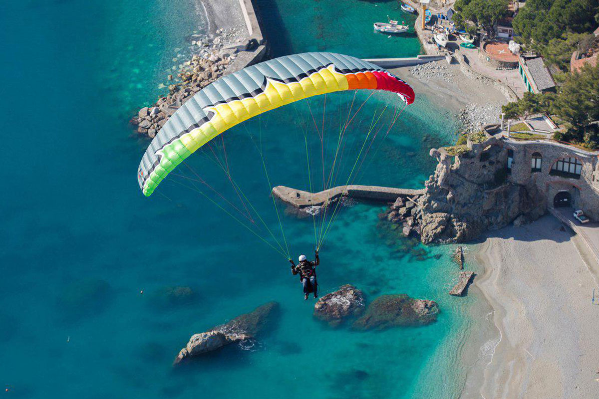 پرواز بر سر ساحل الودنیز ترکیه تست پایلوت شرکت یوترن آلمان